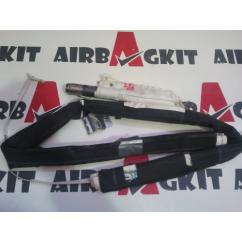 9650247780 AIRBAG CORTINA DERECHO PEUGEOT 207 2006 -2009 2 CONECTORES