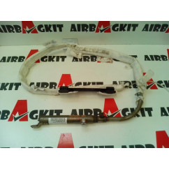 9653166080G AIRBAG CURTAIN RIGHT PEUGEOT 307 S1 2001 - 2005