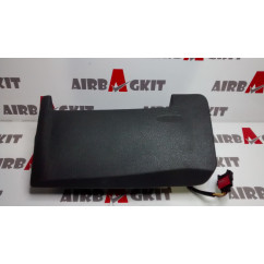 96501412 BLACK AIRBAG KNEE CITROEN C5 1st GENER. (RC/RE) 2004 - 2008