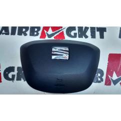 6J0880201AGAT7 AIRBAG VOLANTE SEAT IBIZA 6J1 (RESTY) 2012 - 2015, MII 2013 - 2019