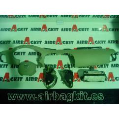 NISSAN MICRA K12 2002-2011 BLANCO KIT AIRBAGS COMPLETO NISSAN MICRA 3ª GENER. 2002 - 2010
