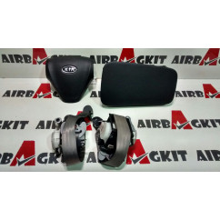 2005-2011 2nd GENERATION 1 KIT, AIRBAGS, FULL KIA RIO 2nd GENERATION 2005 - 2011