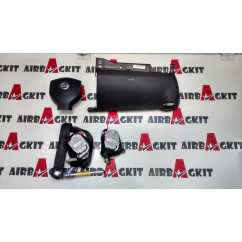 KIT, AIRBAGS, FULL NISSAN NOTE 2006 - 2012