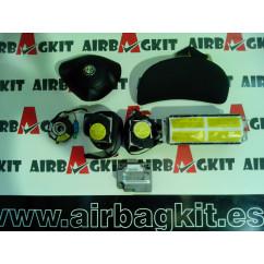 ALFA ROMEO 147 5 puertas KIT AIRBAGS COMPLETO ALFA ROMEO 147 (937) (11.2000 - 12.2010) 2000-2001-2002-2003-2004 - 2005 - 2006...