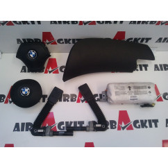 BMW SERIE 3 E46 KIT AIRBAGS COMPLETO BMW SERIE 3 E 46 (02.1998 - 04.2005) 1998-1999-2000-2001-2002-2003-2004-2005