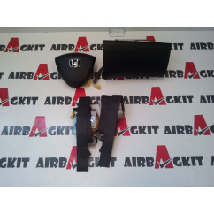 HONDA CIVIC 2001-2005 nº1 KIT AIRBAGS COMPLETO HONDA CIVIC 2001 - 2006