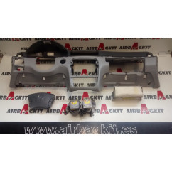 MERCEDES CLASE S W220 GRIS 1999 - 2005 KIT AIRBAGS COMPLETO MERCEDES-BENZ CLASE S W220 2000 - 2005
