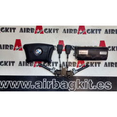 BMW SERIE 5 E39 1996-1999 KIT AIRBAGS COMPLETO BMW SERIE 5 E 39 (09.1995 - 06.2003) 1995-1996-1997-1998-1999-2000-2001-2002-2...