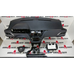 PEUGEOT 208 / 2008 2012 - 2019 CARBONO 5 PUERTAS KIT AIRBAGS COMPLETO PEUGEOT 2008 2013 - 2020, 208 2012 - 2016