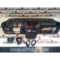 SEAT LEÓN 2 2005 - 2009 carbono KIT AIRBAGS COMPLETO SEAT LEON 2 2005-2006-2007-2008-2009