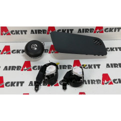 VOLKSWAGEN POLO 6C1 2014 - 2017 GTI KIT AIRBAGS COMPLETO VOLKSWAGEN POLO 6C (2014 - 2017)