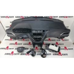 PEUGEOT 208 2012 - 2019 CARBONO 3 PUERTAS KIT AIRBAGS COMPLETO PEUGEOT 208 2012-2013-2014-2015-2016