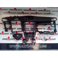 PEUGEOT 207 2 CONECTORES A 1 CON. 2007 - 2009 5 PUERTAS Nº2 KIT AIRBAGS COMPLETO PEUGEOT 207 2006-2007-2008-2009 2 CONECTORES