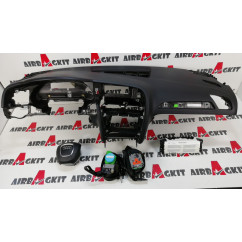 AUDI A4 B8 2008 - 2012 NEGRO 3 PALOS CON CORTINAS KIT AIRBAGS COMPLETO AUDI A4 (8K2 y 8K5) B8 2007 - 2008-2009-2010-2011-2012...