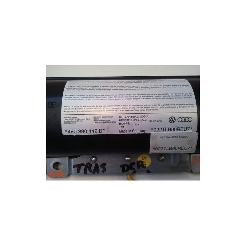 4F0880442B AIRBAG SEAT REAR RIGHT-AUDI A6 C6 (4F) 2004 - 2011